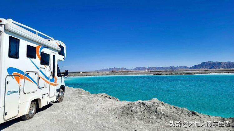 房车露营大柴旦翡翠湖,观光车大门准备好了免费的时间应该不长了-56.jpg