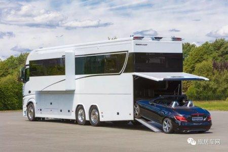 顶级豪华房车Variomobil Signature 轻松装下一辆梅赛德斯