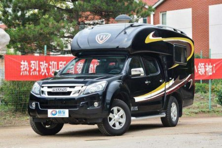江铃D-Max越野房车,不仅能越野,还可城市代步的四驱皮卡房车 ...