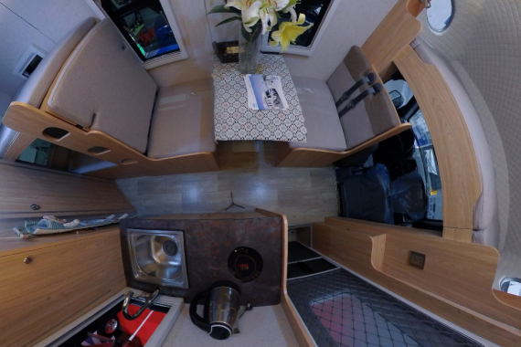 新飞祥菱房车,空间不小功能实用,网友:原来房车也不贵