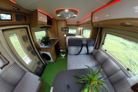 览众塞拉维B房车,低重心设计,大空间自动蓝牌C照驾驶