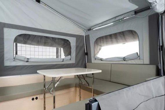 康派斯A45拖挂房车内部图片