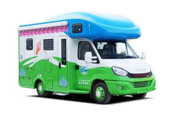 赛德冰点先生冰淇淋房车外观图片
